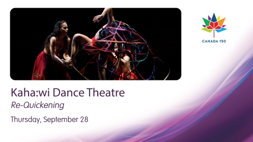 25-kahawi Kaha:wi Dance Theatre explores the experiences of indigenous women in Re-Quickening