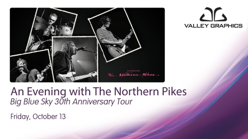 The Northern Pikes celebrate three decades of music with the Big Blue Sky 30th Anniversary Tour
