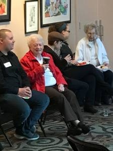 "intergenerational ""Friends"" of the Playhouse help to provide greater access to the performing arts"