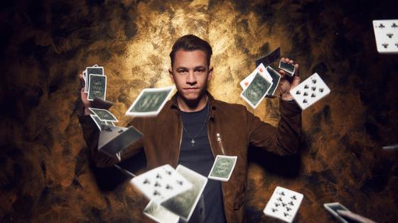Justin Flom, Magician