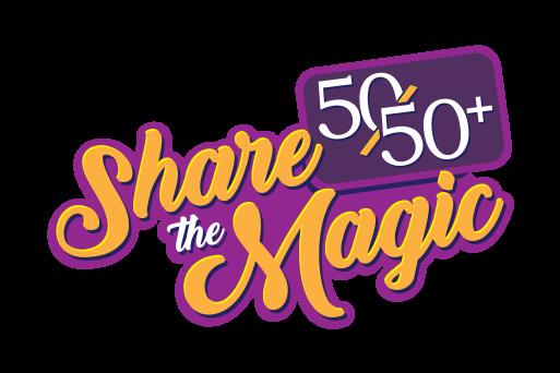 sharethemagic5050logo
